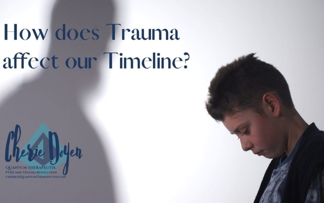 How does trauma affect our timeline